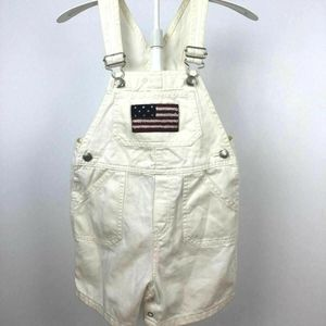 Baby Gap Casual Overall Shorts Adjustable Straps A